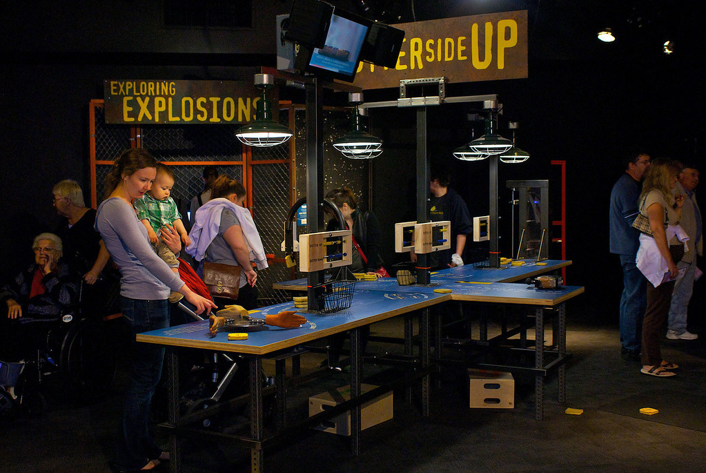 ". The Discovery Channel show ""Mythbusters\"" comes to life with a new exhibit at the Denver Museum of Nature & Science opening Oct. 11."