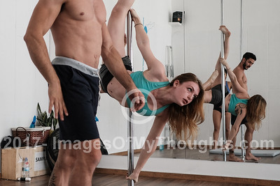 20171114 Pole Dancing in Tel Aviv