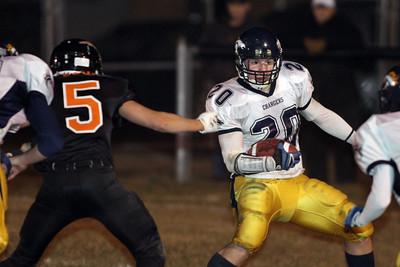 Valley Lutheran at Merrill varsity football