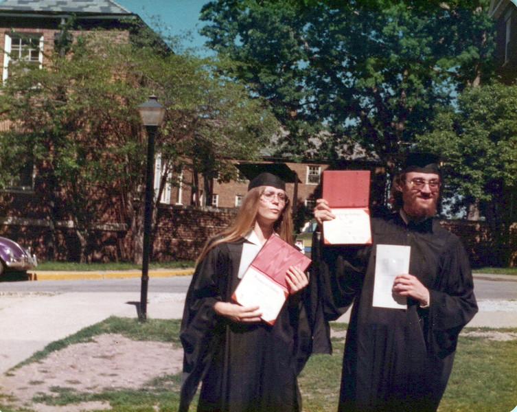 1973 Elaine and Ken Konyha college graduation.jpeg
