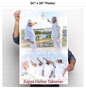 Kappa Harbor Takeover Poster