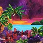 """""""Jamaica"""" (acrylic) by Brittany Fairchild"""
