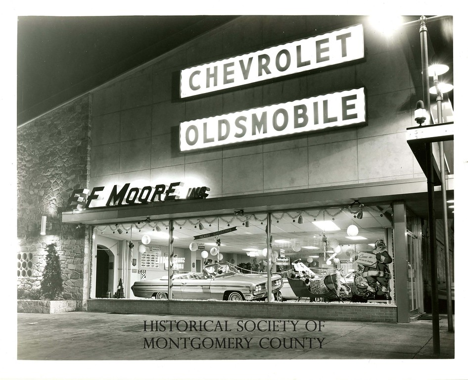 . This undated photo from the Historical Society of Montgomery County shows E.F. Moore in Conshohocken.