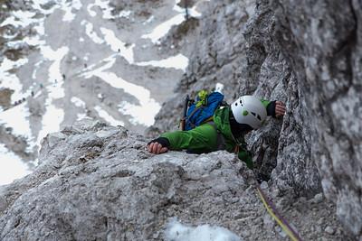 12 03 Kranjska poc ascent in Nad Sitom glava