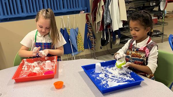 Kindergarten Indoor Snow