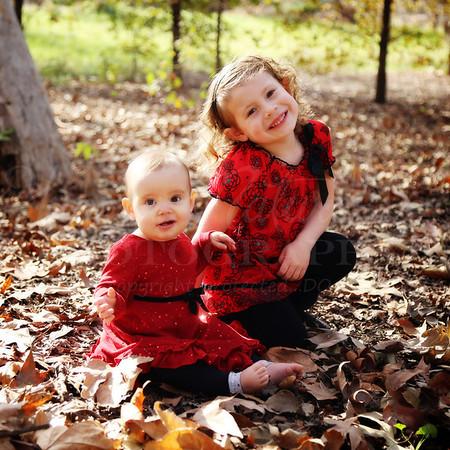 Sofia and Penelope Christmas