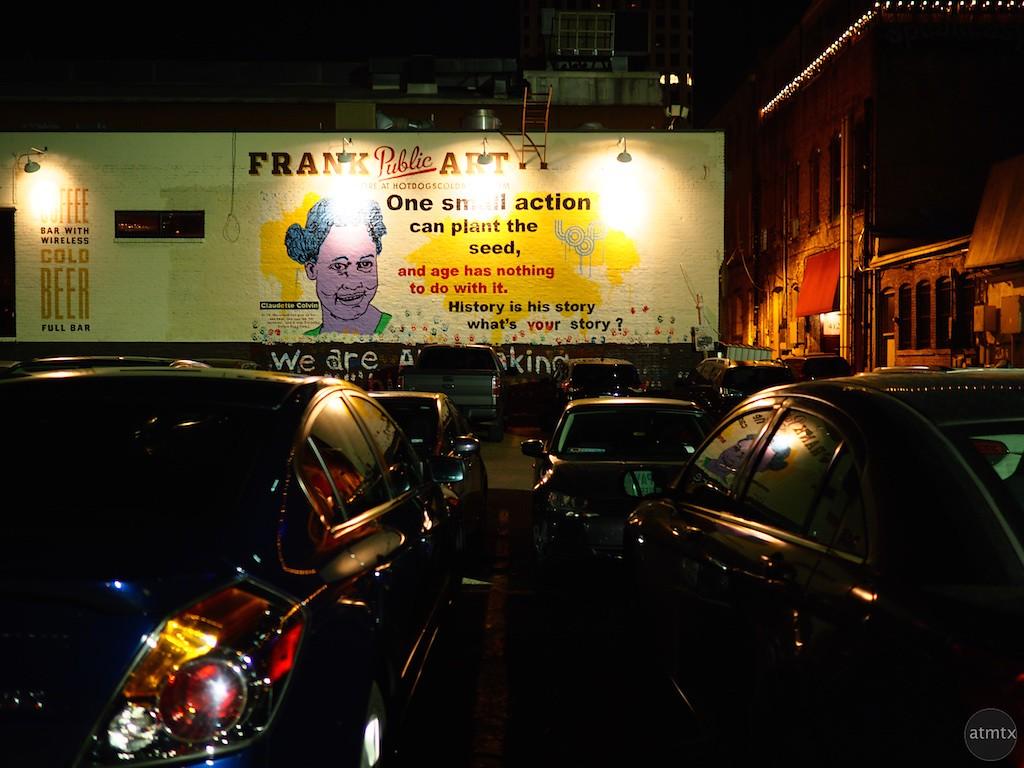 Frank Public Art - Austin, Texas