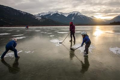 2018/19 Lake Skating