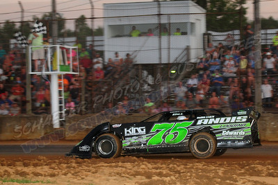 Scott County Fair Race July 10, 2016 ILMS, SS, PS and Hornets