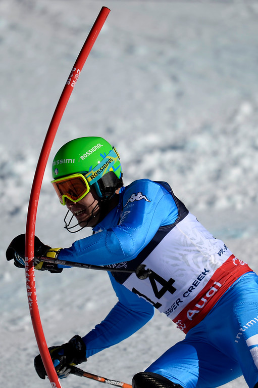 . BEAVER CREEK, CO - FEBRUARY 08: Christof Innerhofer of Italy during the men\'s alpine combined final. FIS Alpine World Ski Championships 2015 on Sunday, February 8, 2015. (Photo by AAron Ontiveroz/The Denver Post)