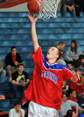 Boys Varsity Basketball - Charlotte at Mason - Jan 19