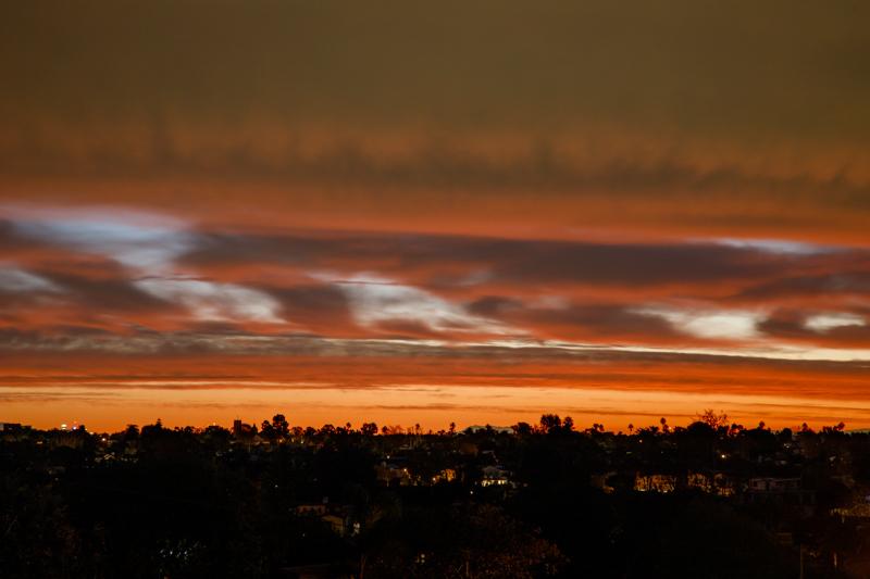 December 9 - Before sunrise over Los Angeles.jpg