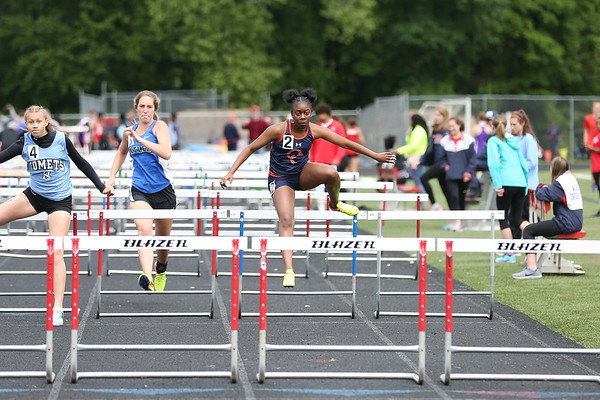 Albemarle and Orange compete at Conference 16 track