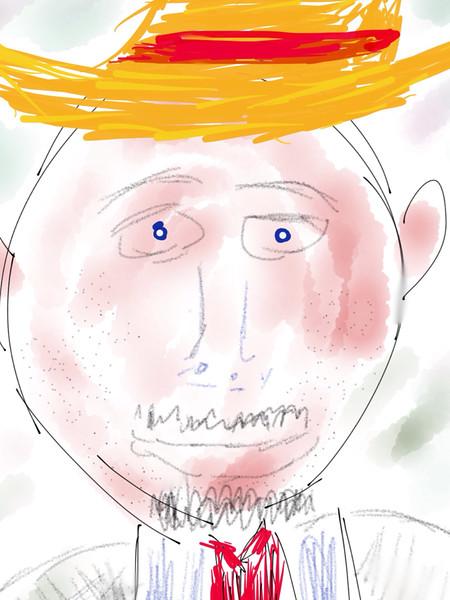 Self Portrait of Someone Else