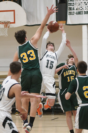 McCann vs St. Mary's Boys Basketball - 011320