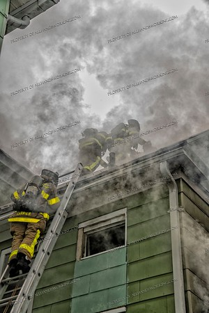 2 Alarm Dwelling Fire - 119 Admiral St, West Haven, CT  - 7/1/21
