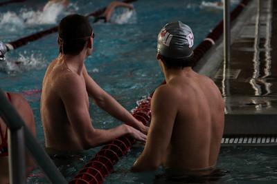 Senior Swim meet