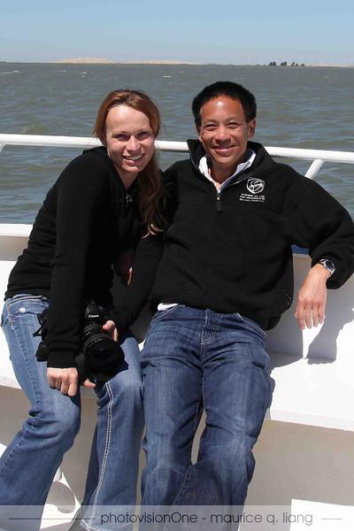 Maurice & Hana.  Photo by Kurt.