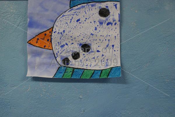 4th grade snowmen . 1.28.13
