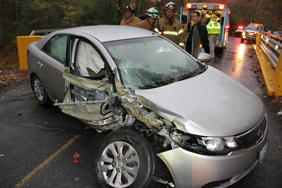 Motor Vehicle Accident, Lake Hauto, Hometown, Rush Township (10-10-2013)