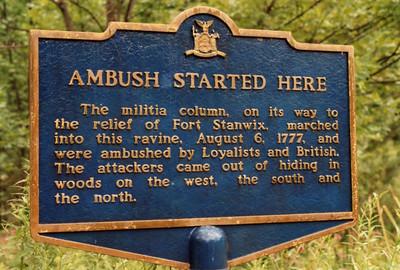 Oriskany Battlefield