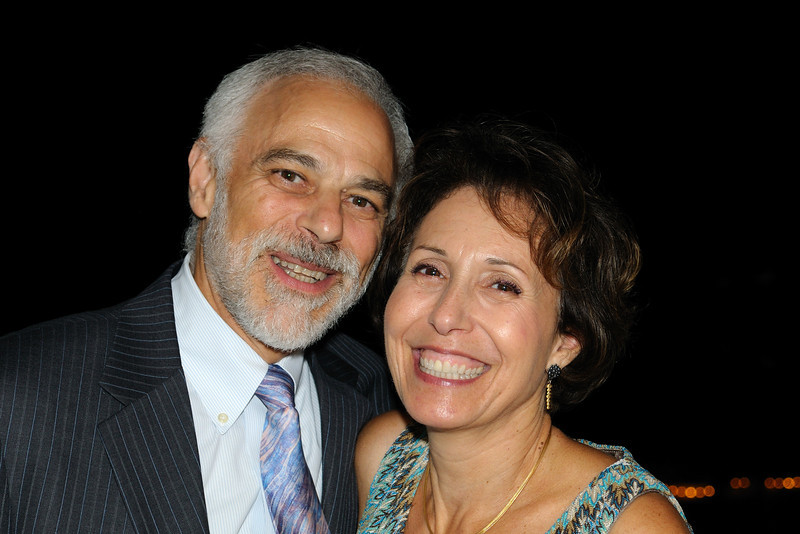 My very best friend growing up, Harvey Berger and his lovely wife Janice.