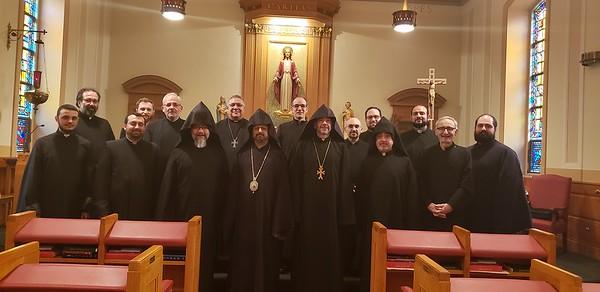 Midwest Clergy Lenten retreat
