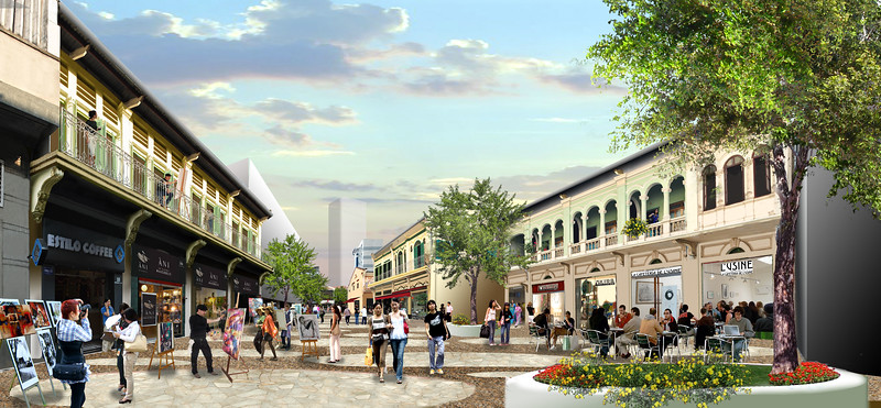 Cholon Redevelopment: Nguyen Anh Street