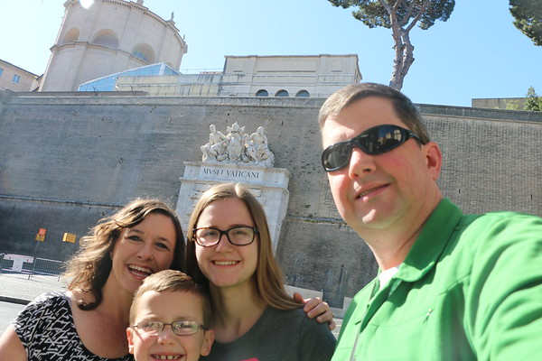 Rome and Mediterranean Cruise - June 2017