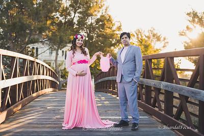 Gul Fisha Maternity Shoot