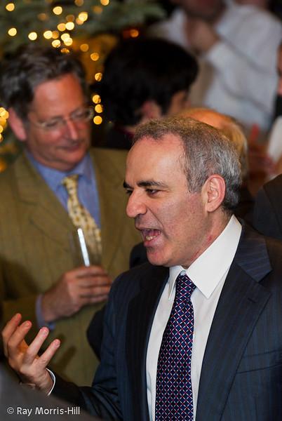 Garry Kasparov at the evening reception.
