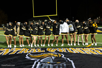 Cheerleaders and Fans