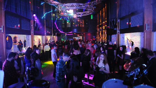 Valentine's Day Feat DJ Y.K. & Nikan W S7ahel K. On Percussion Pres/Promo/Prod:Vancouver Persian Events @ StudioNightClub.ca 919 Granville District Ent St LM GDVA Bc Canada Videos (02_17_19)