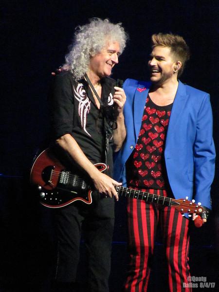 Queen + Adam Lambert  - Dallas - Aug 4, 2017
