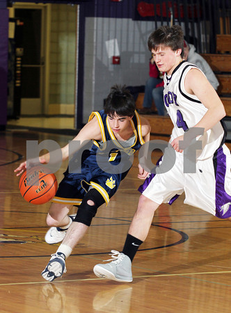 2012 Northern Potter Boys JV Basketball @ Coudersport