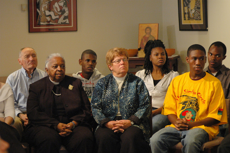 ELCA members at the September 19, 2010, ELCA Town Hall Forum.