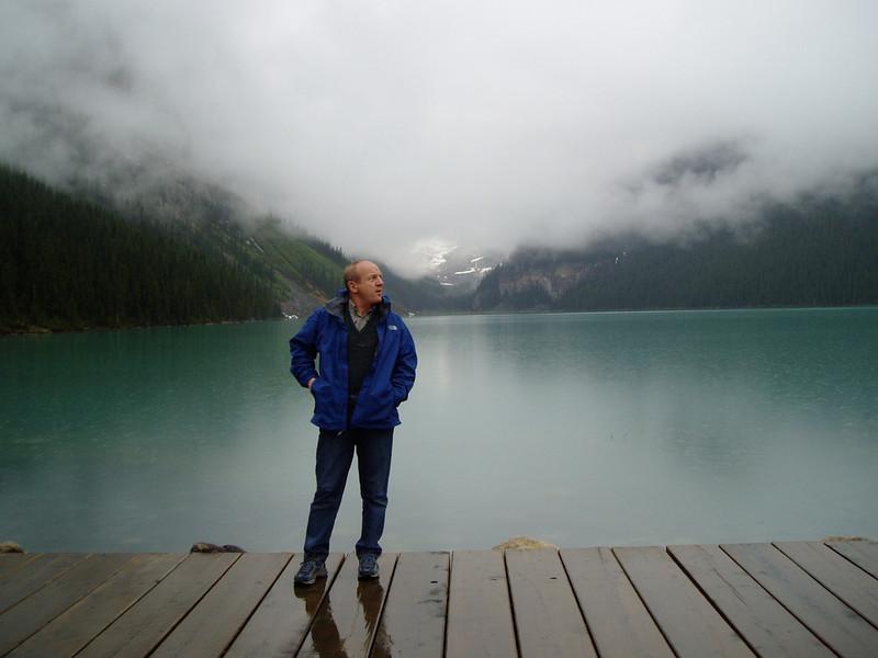 Beautiful color of Lake Louise.