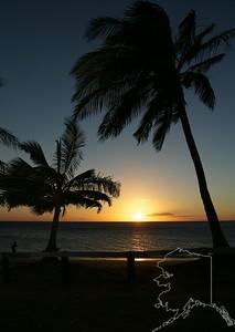 Sunset at Kihei Maui 2013