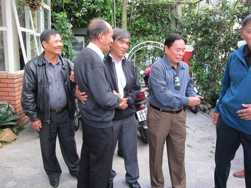 Đồng, Thầy An, Hưng, Long