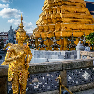 Temple of the Emerald Buddha and Grand Palace