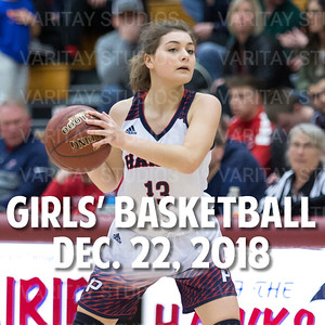 Prairie Girls Basketball, Dec. 22, 2018
