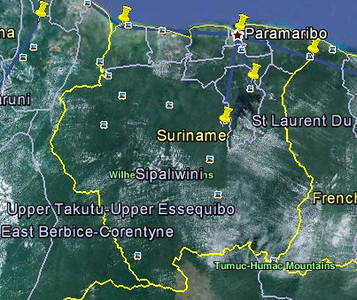 Suriname route