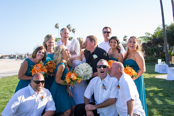 Catamaran Mission Bay San Diego Beach Wedding 92109 - R&R