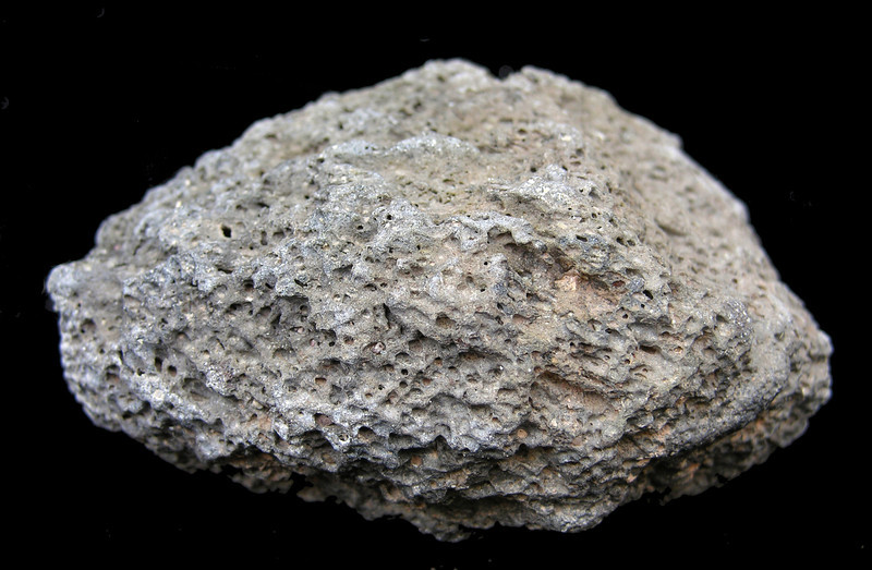 Volcanic lava from Hector Mine