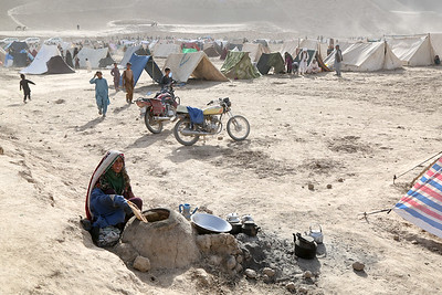 Drought affected families in Badghis, Afghanistan