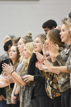 Crowd at Varsity Basketball vs Elkhorn