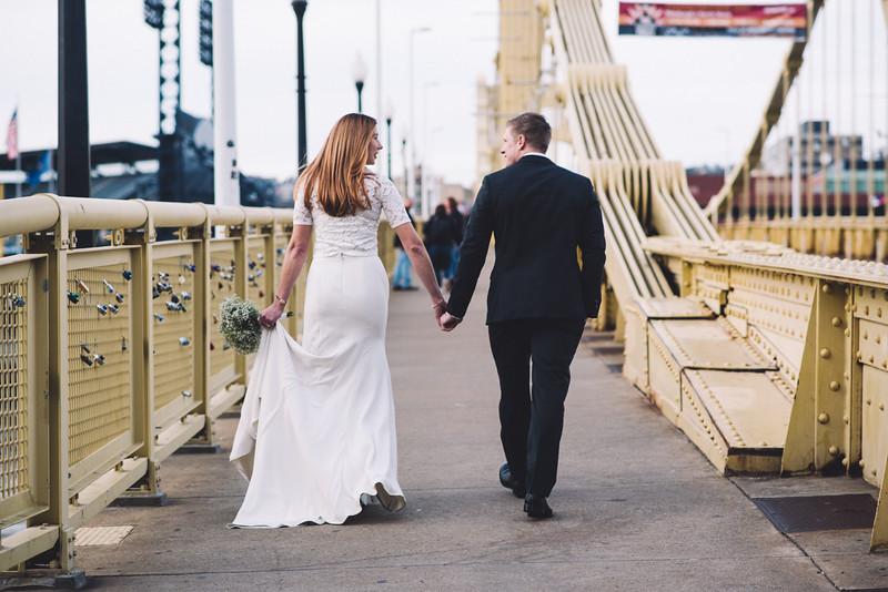 Pittsburgh Elopement Photographer - Monaco Bridge Downtown - Hadley-192.jpg