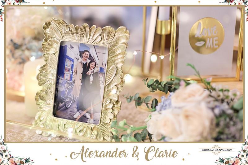 © Wedding of Alexander & Clarie   SRSLYPhotobooth.sg