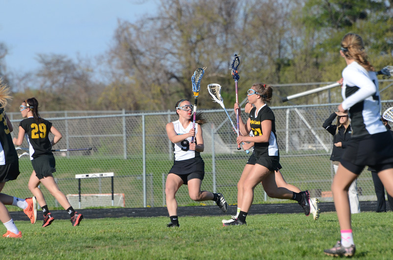 Girls JV Lacrosse March 29 vs Harford Tech