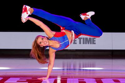 Detroit Pistons Dancers Action Portraits